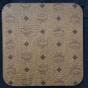 Brown MCM mouse pad